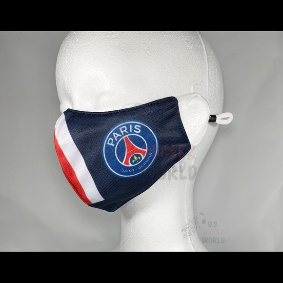 Accessories Fashion Paris Saint Germain Soccer Psg Face Mask Poshmark